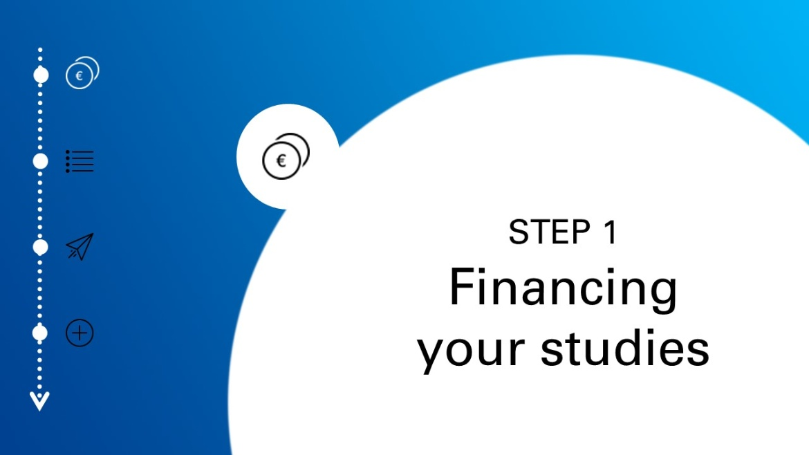 Step one: financing your studies